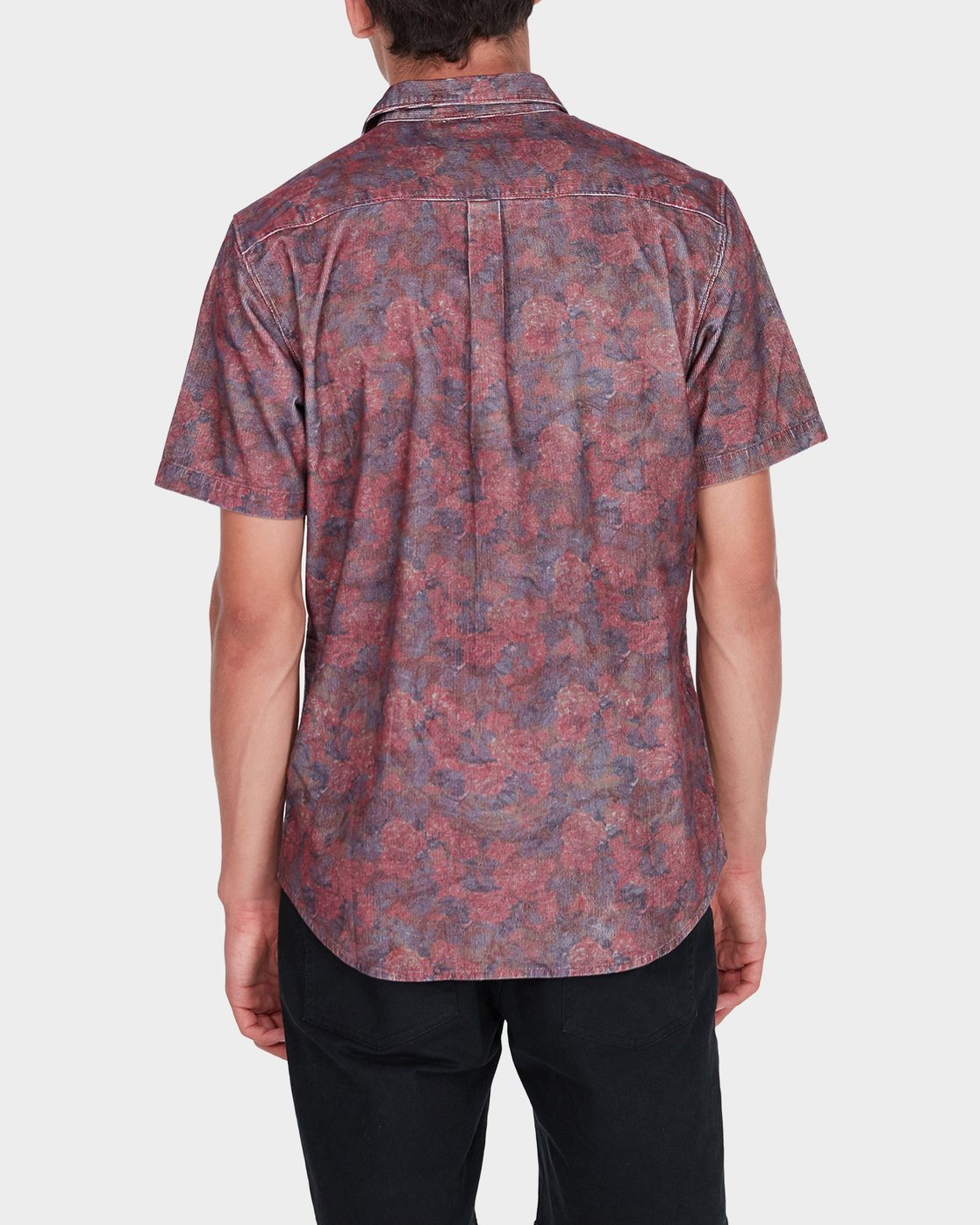 2 Marbles Floral Cord Short Sleeve  R172189 RVCA