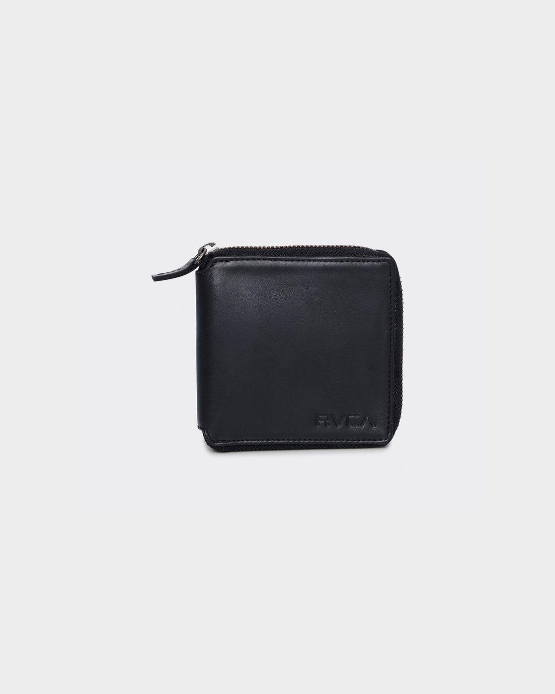 0 RVCA Executive Zip Wallet  R172603 RVCA