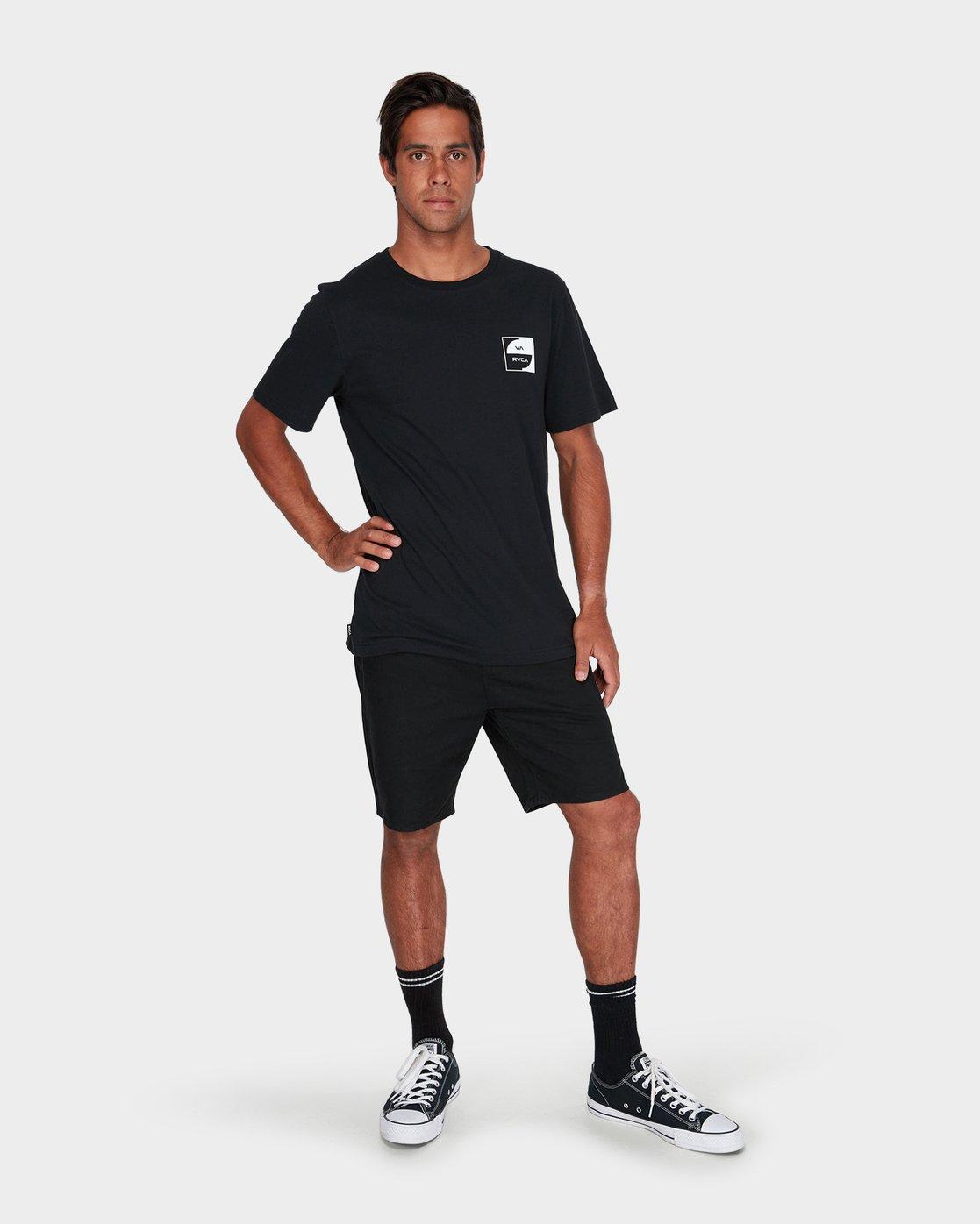 3 Va Squircle T-Shirt  R181055 RVCA