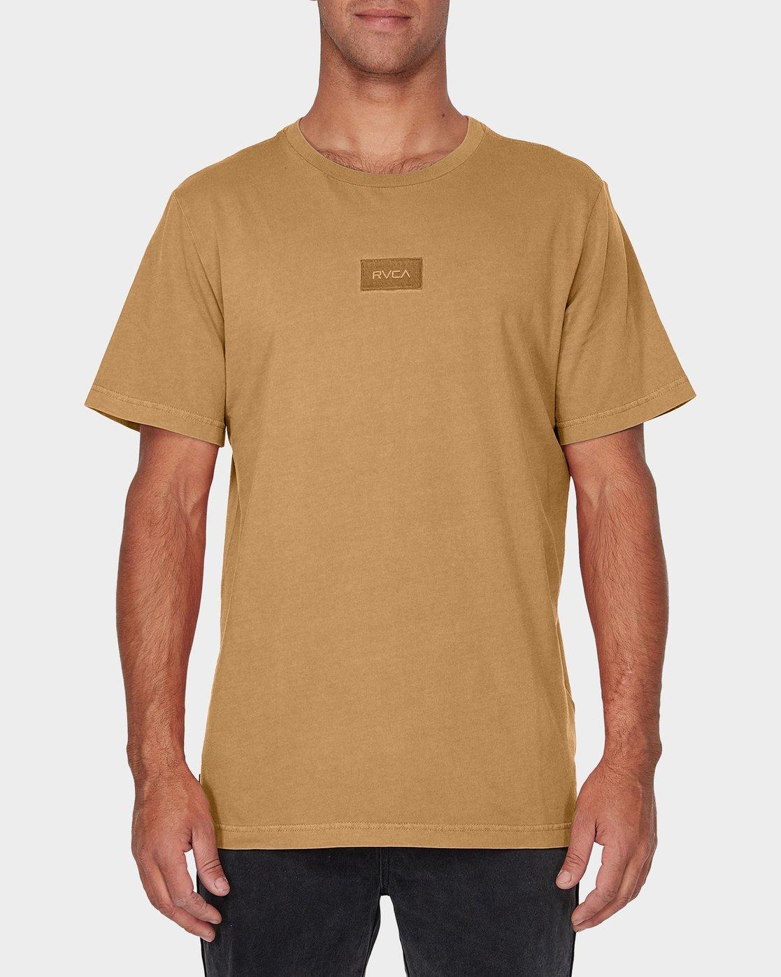 0 RVCA Focus T-Shirt Green R181061 RVCA