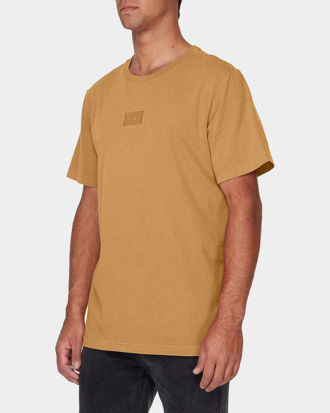 1 RVCA Focus T-Shirt Green R181061 RVCA