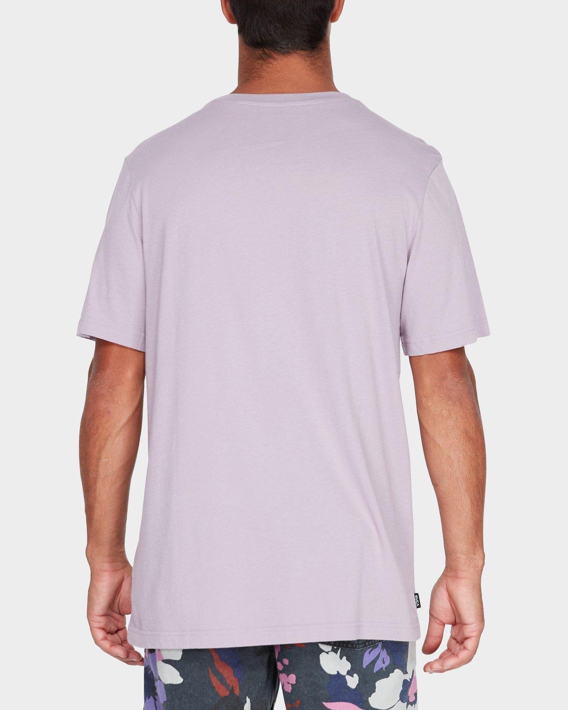 2 Pyramid T-Shirt Grey R181062 RVCA