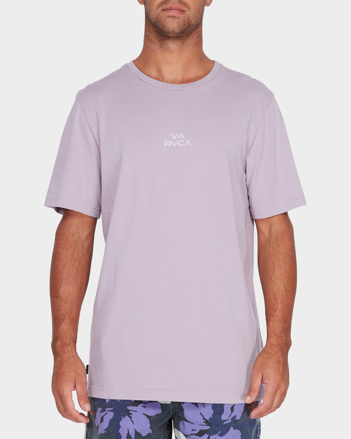 0 Pyramid T-Shirt Grey R181062 RVCA