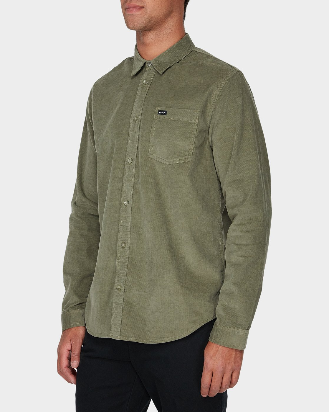 1 Truest Long Sleeve Shirt Brown R181186 RVCA