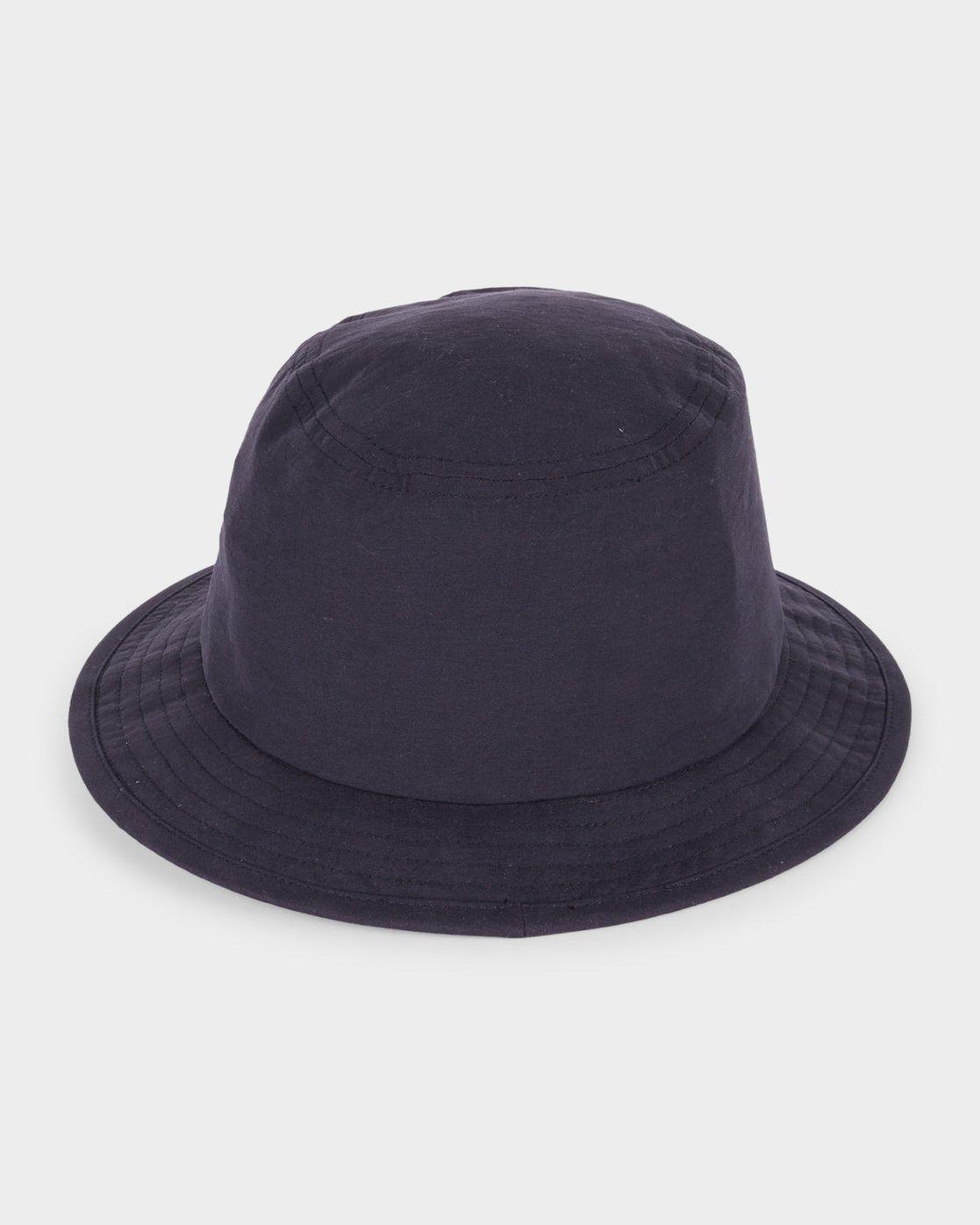 1 RVCA Poolside Hat Black R181567 RVCA