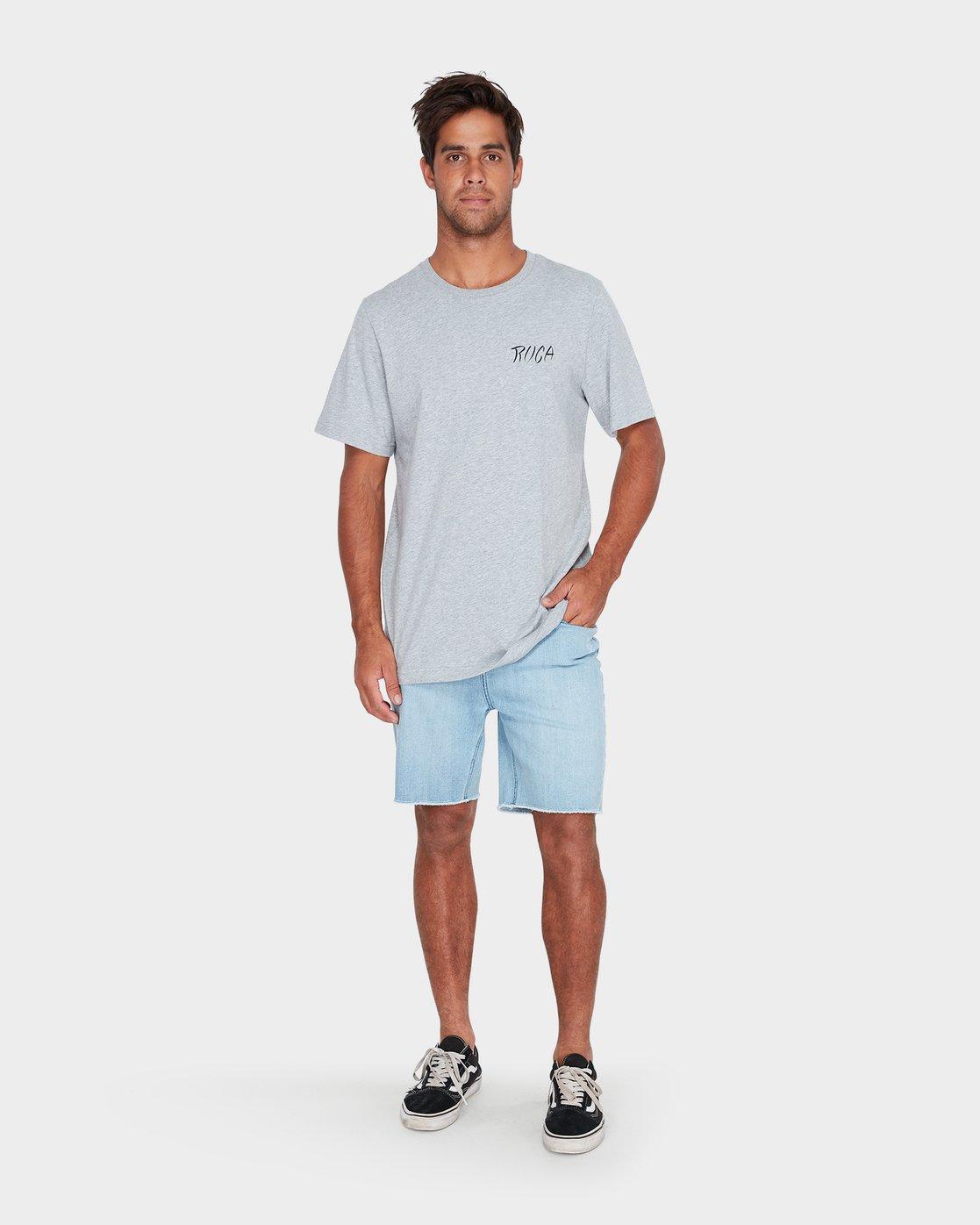 3 Va Good Day Short Sleeve T-Shirt  R182048 RVCA