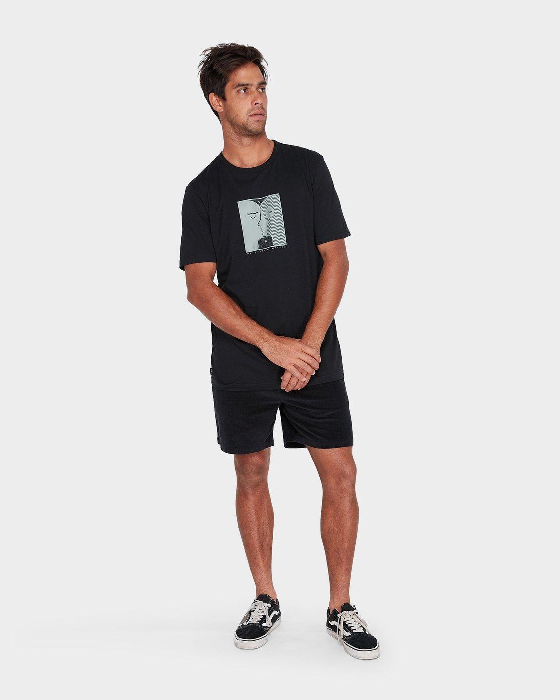 3 Va Faces T-Shirt  R182057 RVCA
