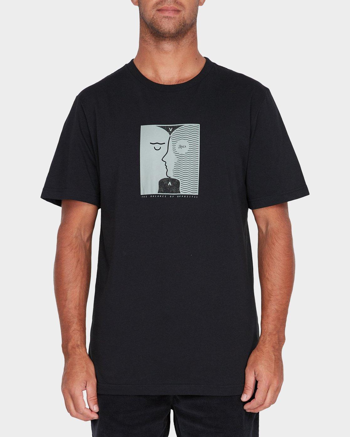 1 Va Faces T-Shirt  R182057 RVCA