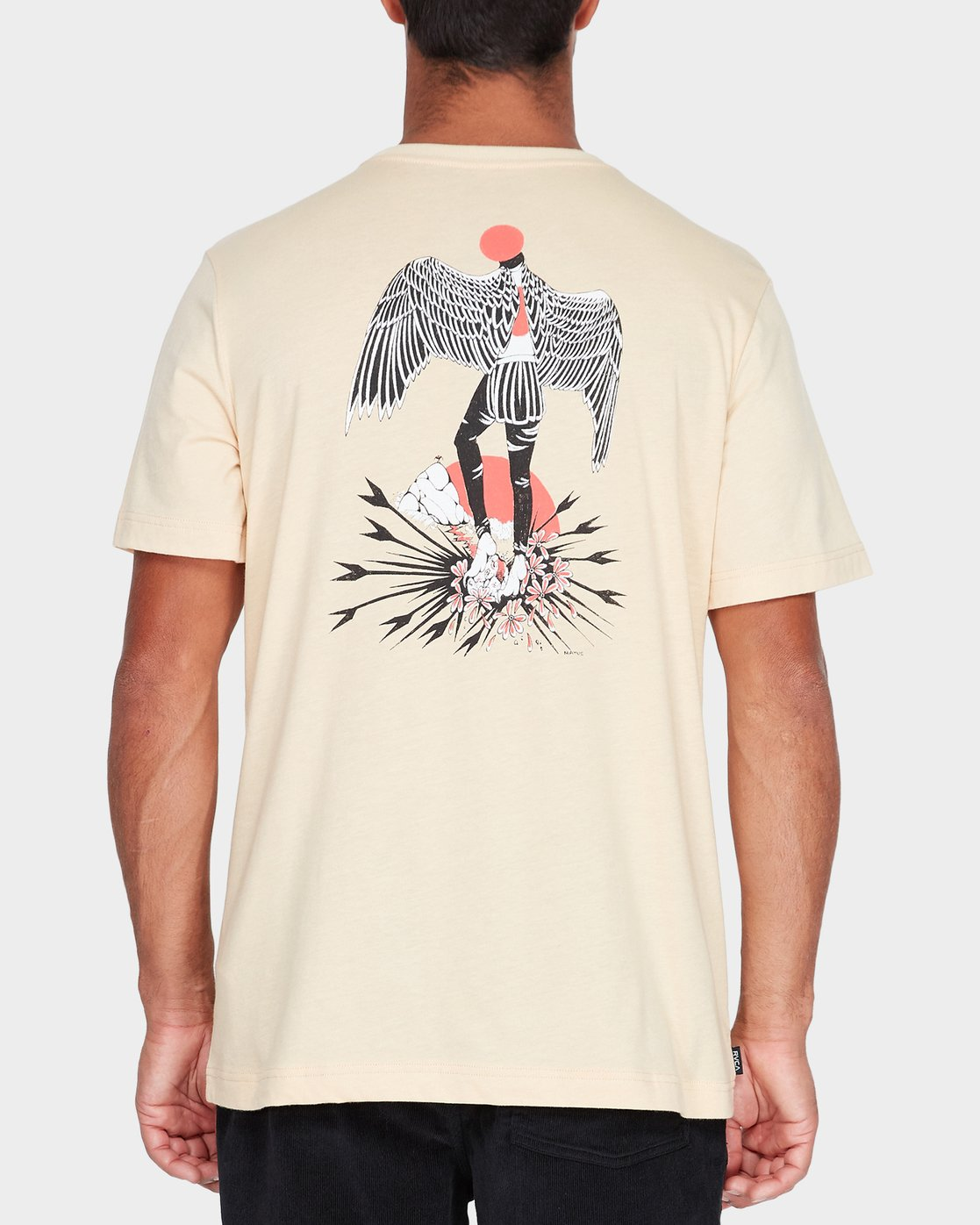 2 Matus Wings T-Shirt  R182058 RVCA