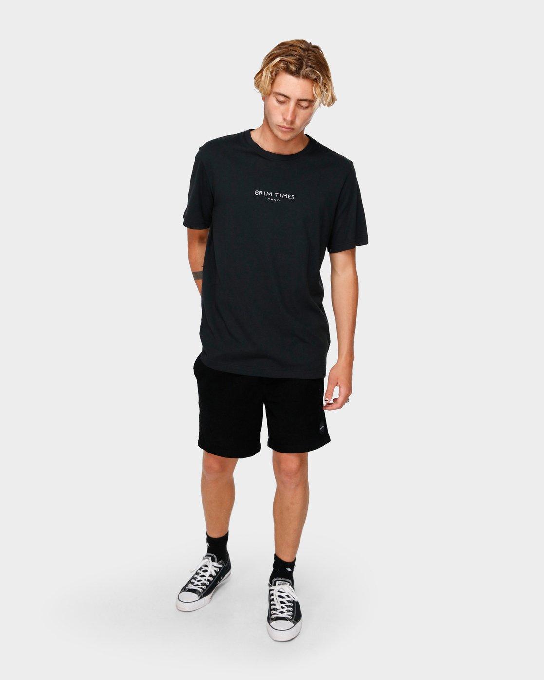 4 Grim Times T-Shirt  R182059 RVCA
