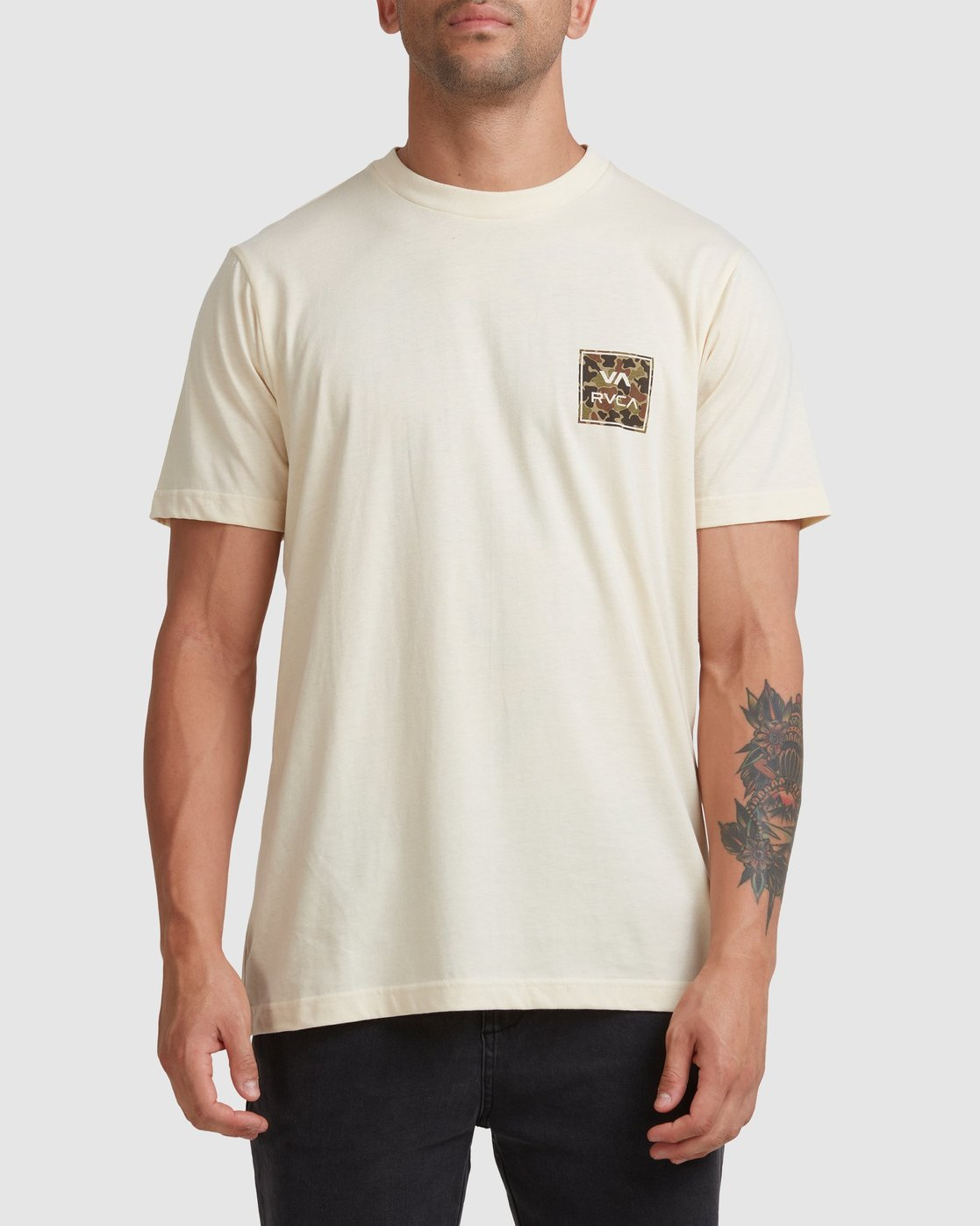 3 VA ALL THE WAYS MULTI TEE White R182062 RVCA