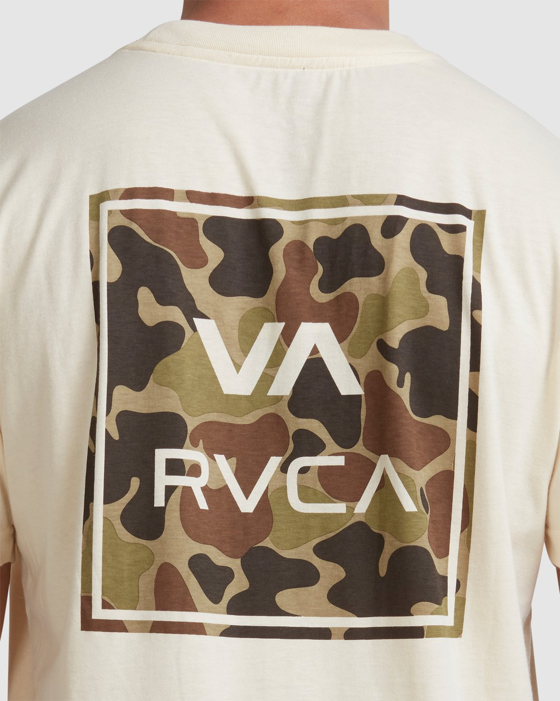 4 VA ALL THE WAYS MULTI TEE White R182062 RVCA
