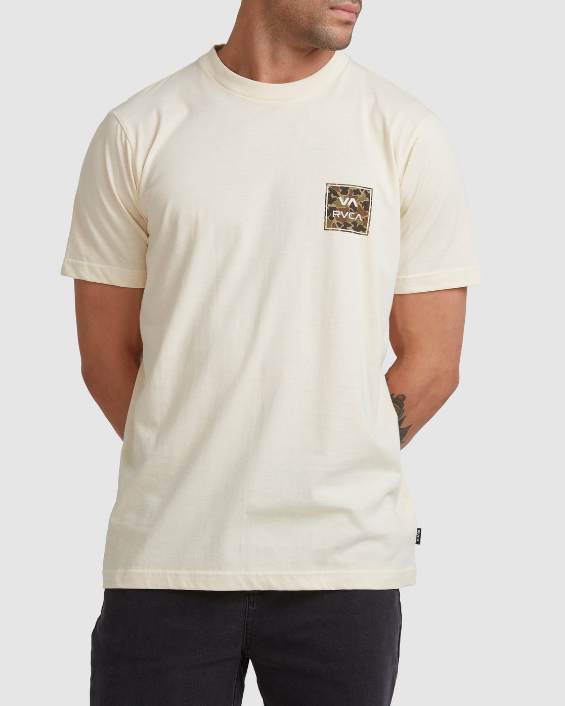 0 VA ALL THE WAYS MULTI TEE White R182062 RVCA