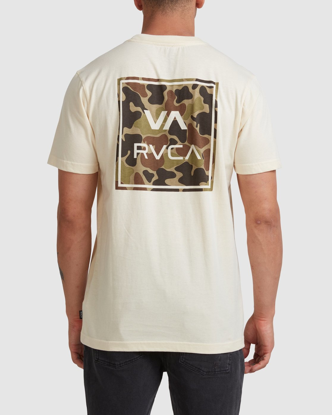1 VA ALL THE WAYS MULTI TEE White R182062 RVCA