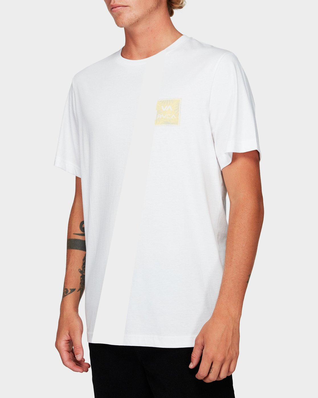1 Va All The Ways Multi T-Shirt Yellow R182062 RVCA