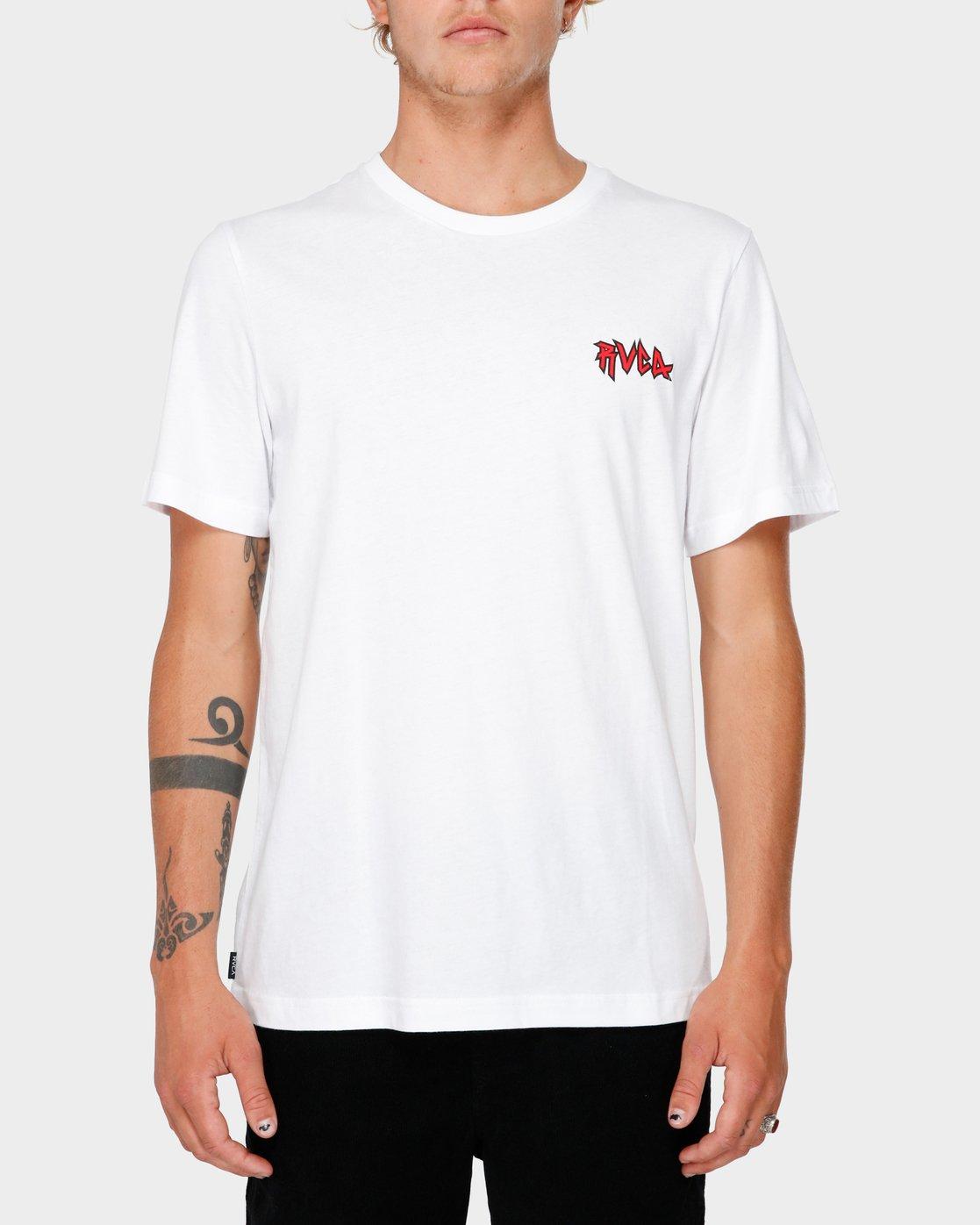 1 RVCA Creatures T-Shirt  R182069 RVCA