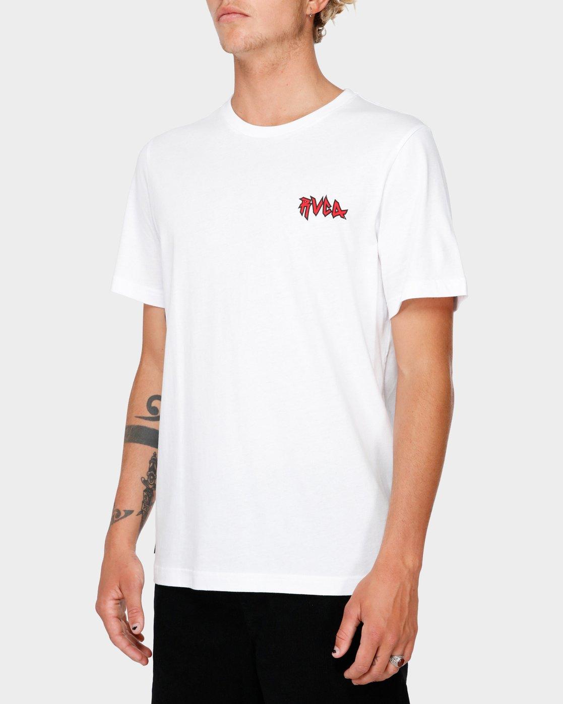 2 RVCA Creatures T-Shirt  R182069 RVCA