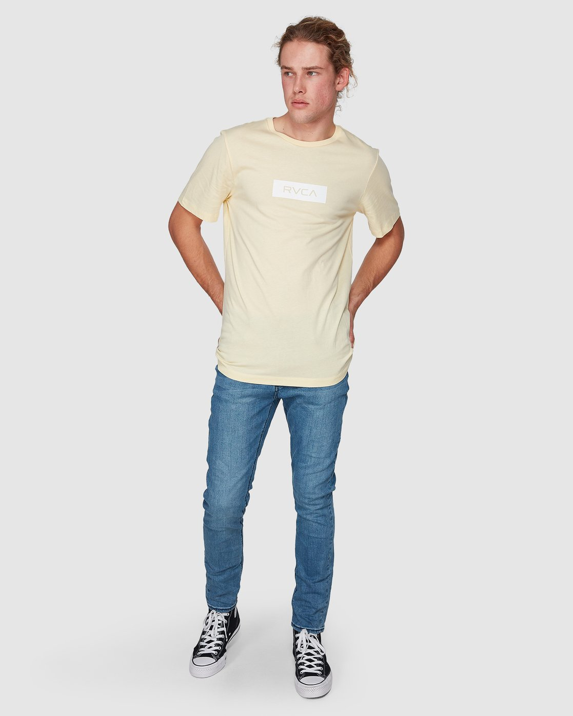 4 RVCA Box Short Sleeve T-Shirt  R182073 RVCA