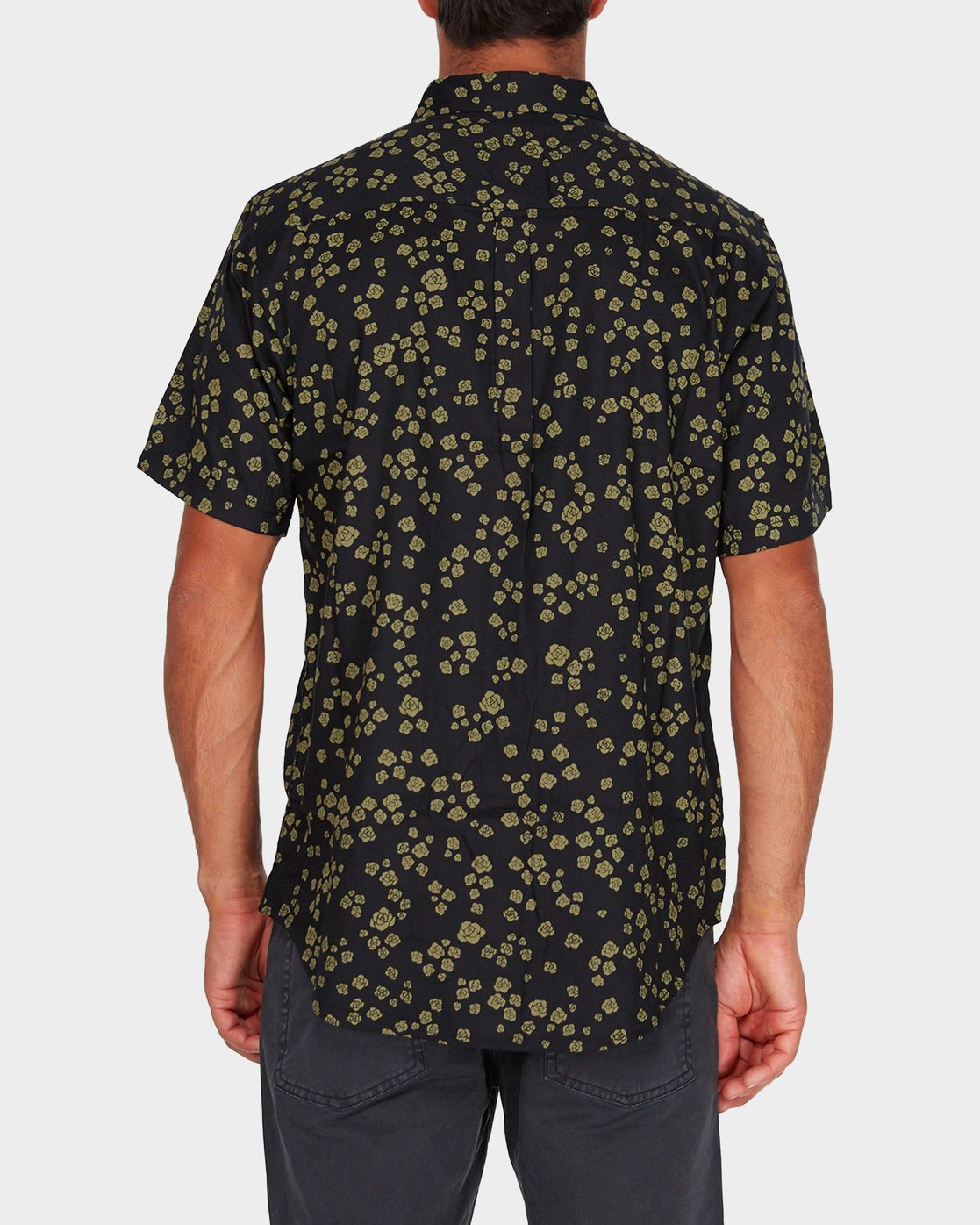2 RVCA Rosa Short Sleeve Shirt  R182185 RVCA