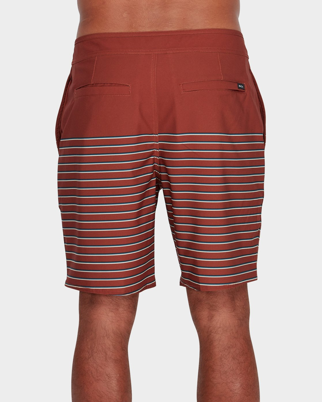 2 Curren Multi Stripe Trunk  R182413 RVCA