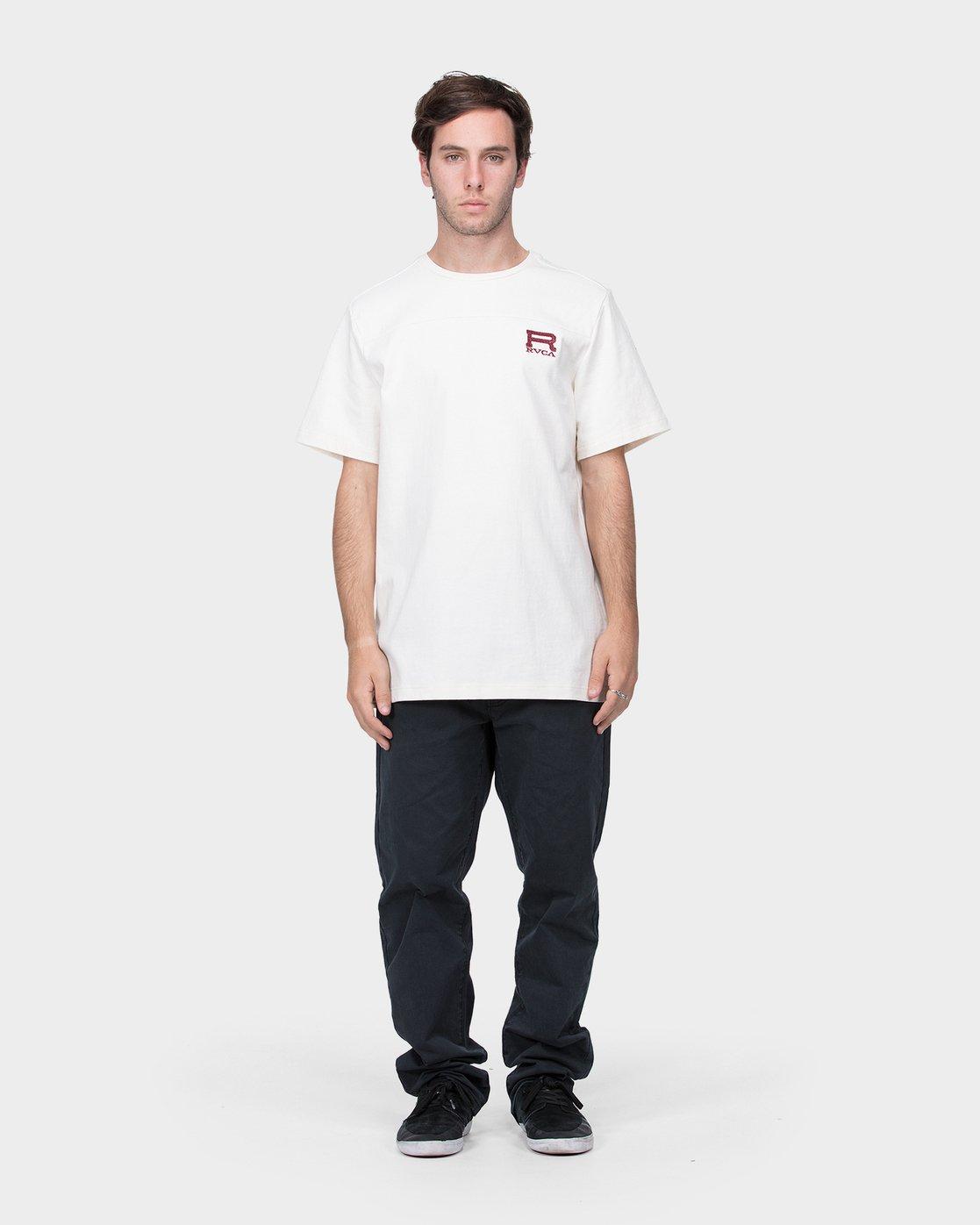 3 Prime Lynes T-Shirt  R183045 RVCA