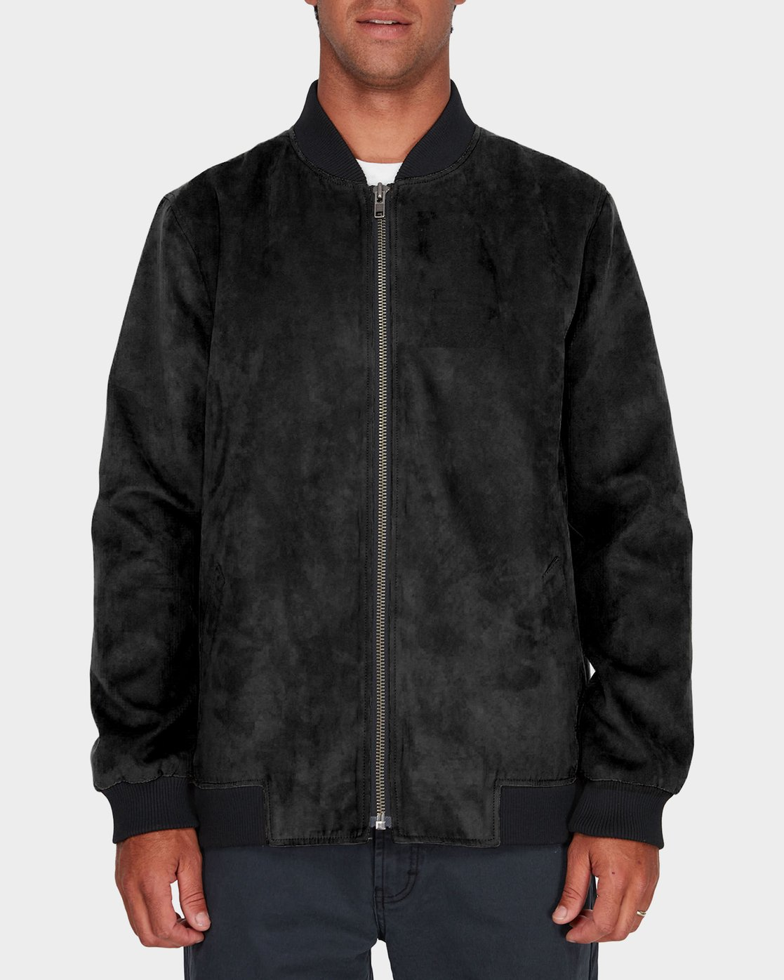 0 RVCA Suede Out Jacket  R183434 RVCA