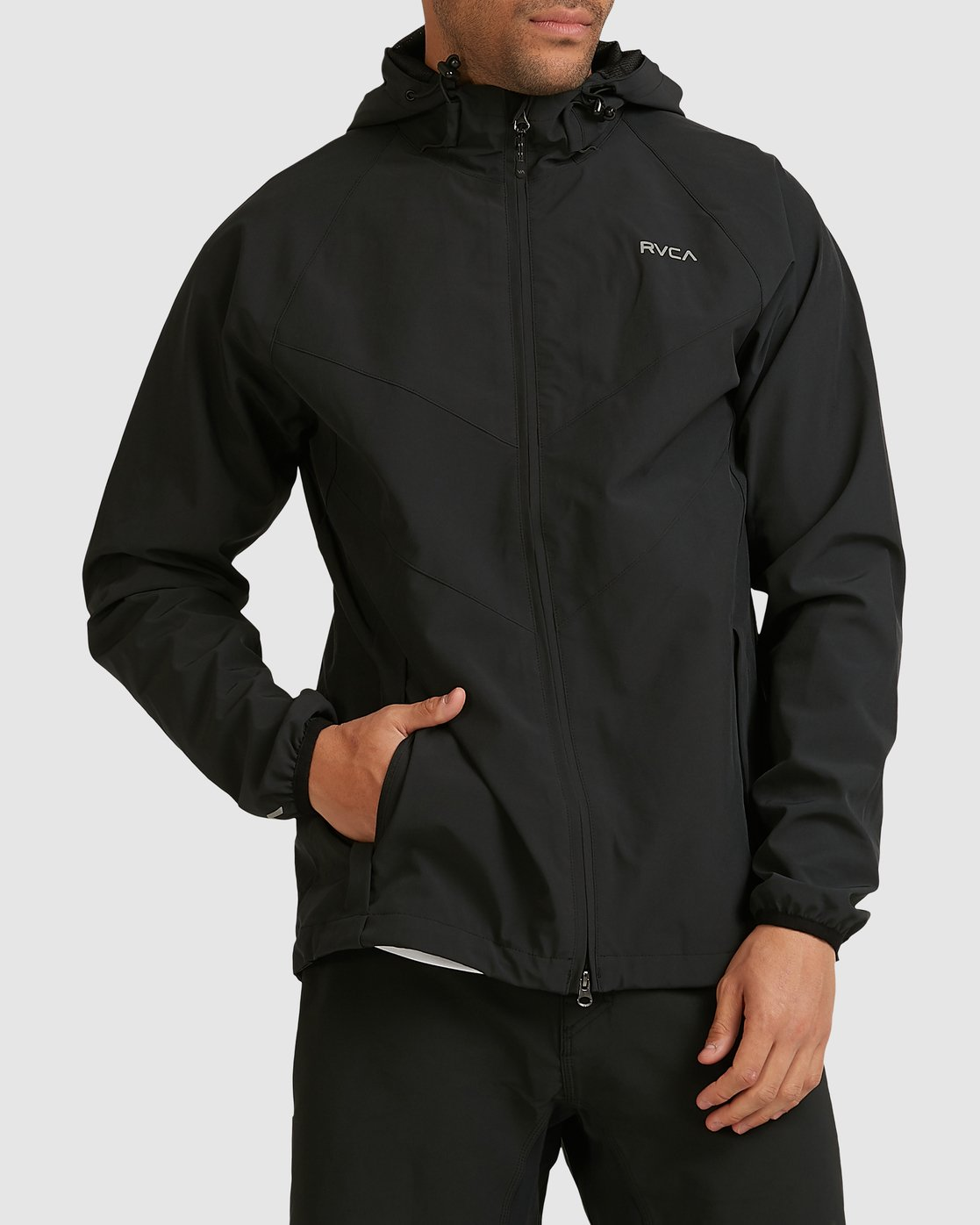 0 VA WINDBREAKER Black R183438 RVCA