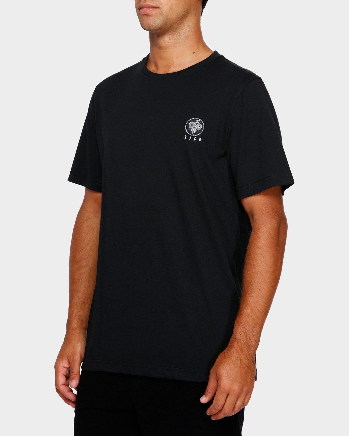 3 Split Decision T-Shirt Black R191055 RVCA