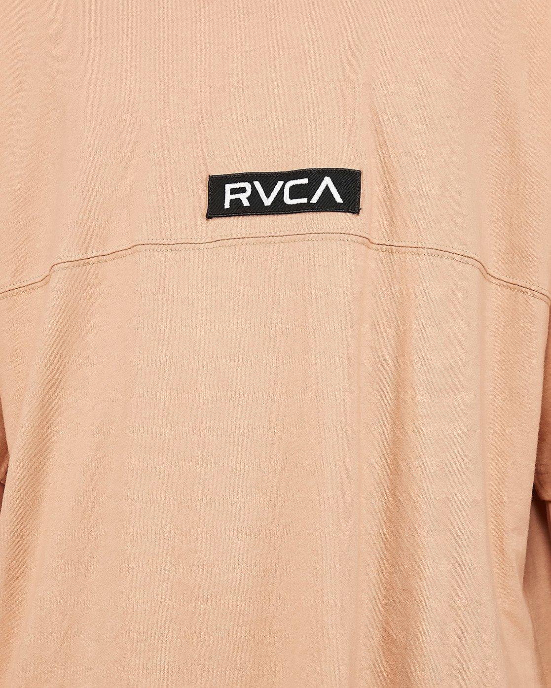 4 Harajuku Short Sleeve Tee Beige R191058 RVCA