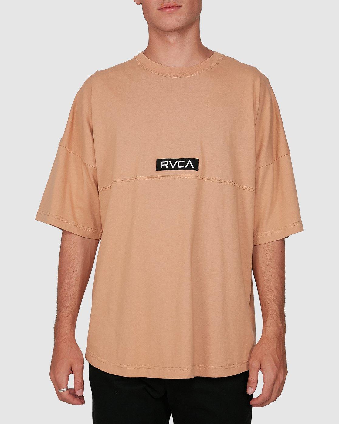 0 Harajuku Short Sleeve Tee Beige R191058 RVCA