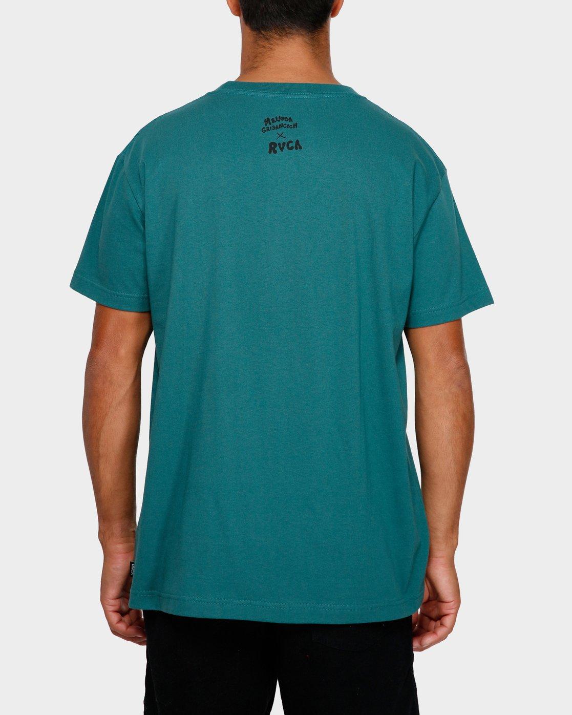 3 Mel G Flowers T-Shirt  R191061 RVCA