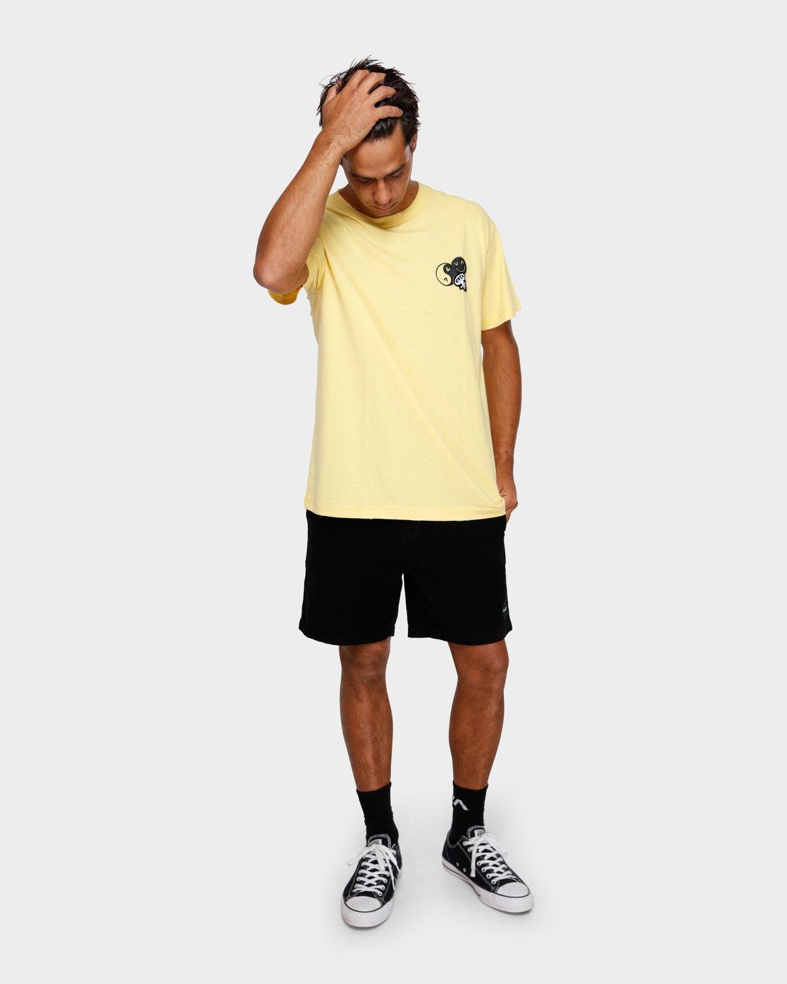 5 Atomic T-Shirt  R191062 RVCA