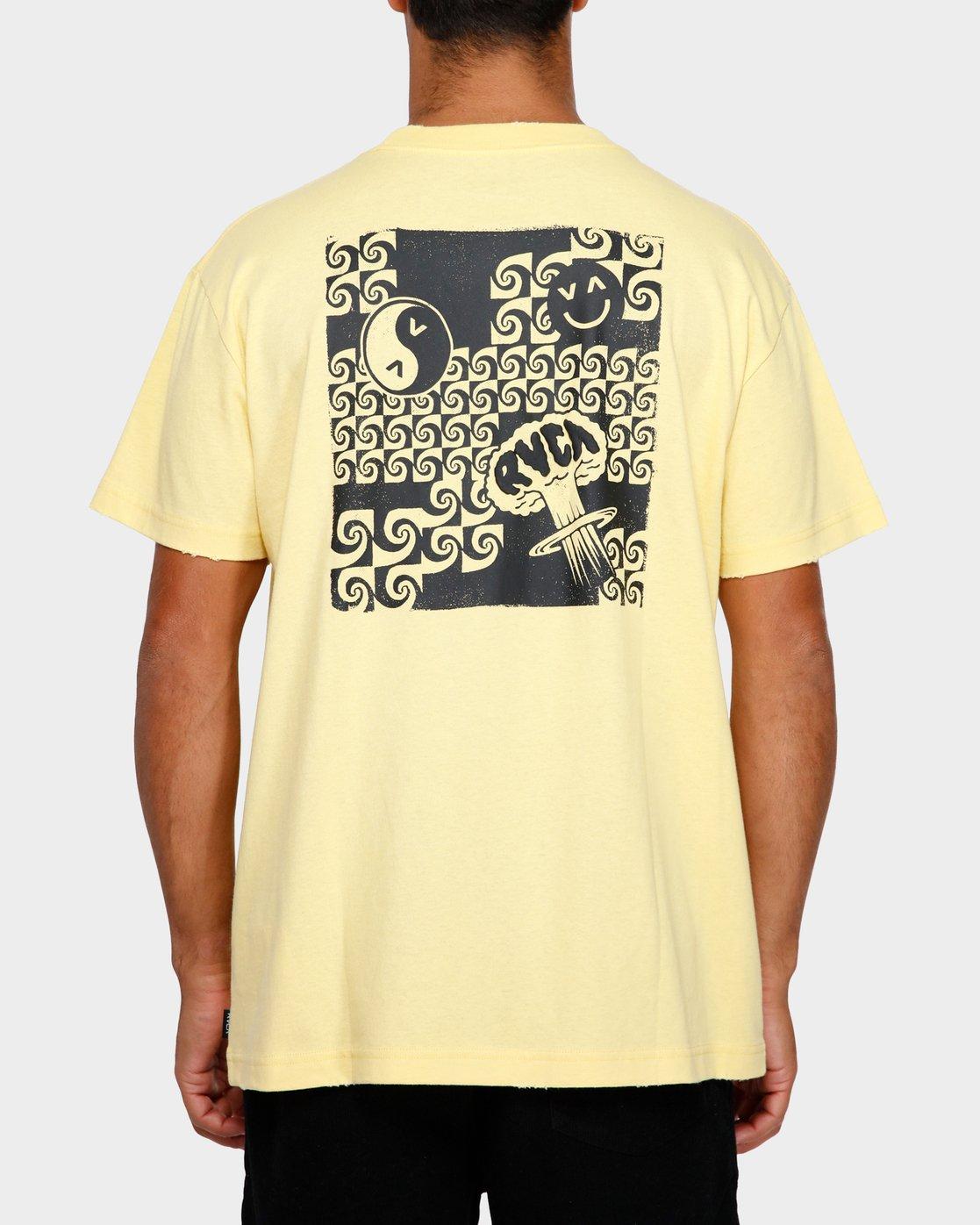 4 Atomic T-Shirt  R191062 RVCA
