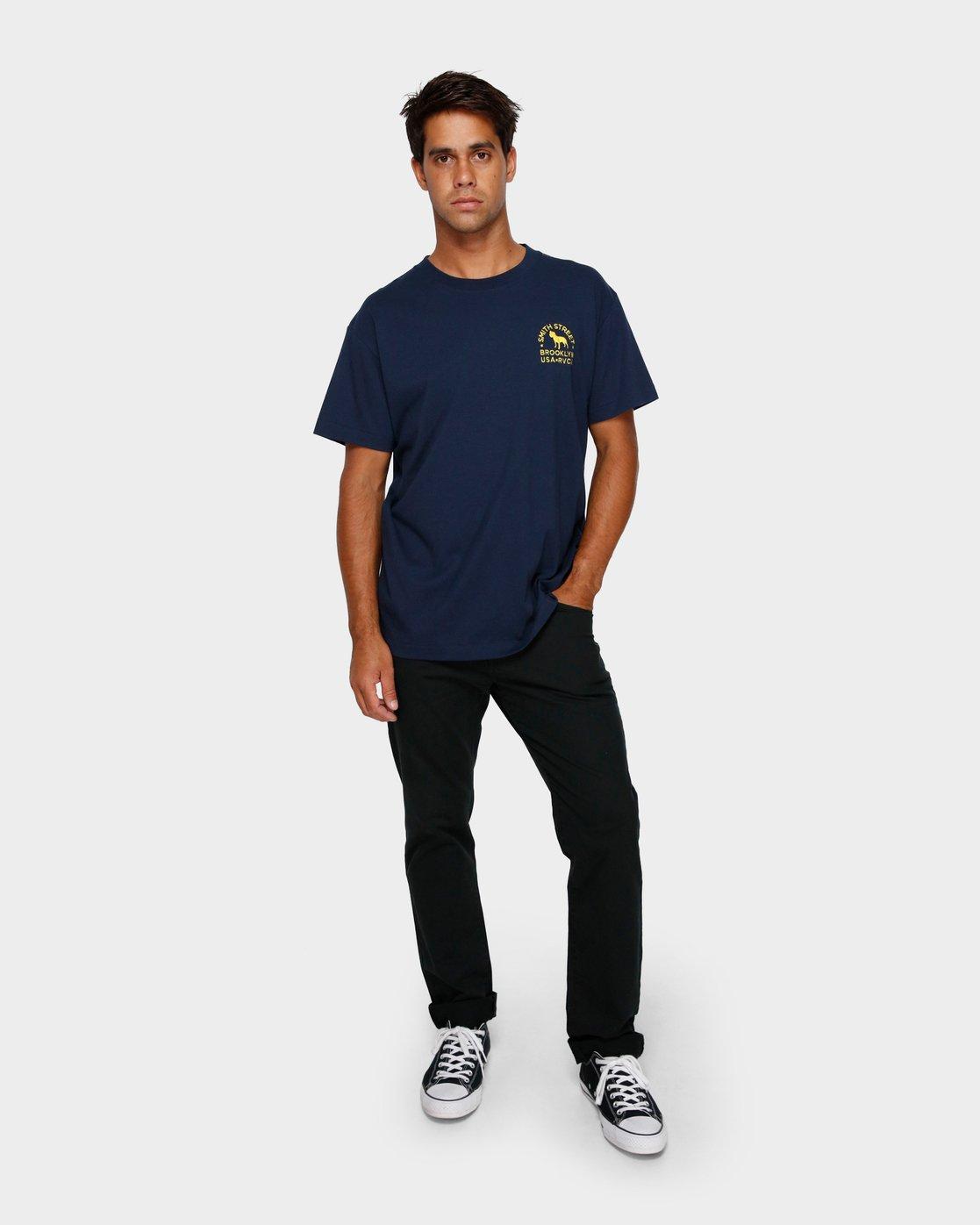 4 Smith Street Wicks T-Shirt  R191063 RVCA