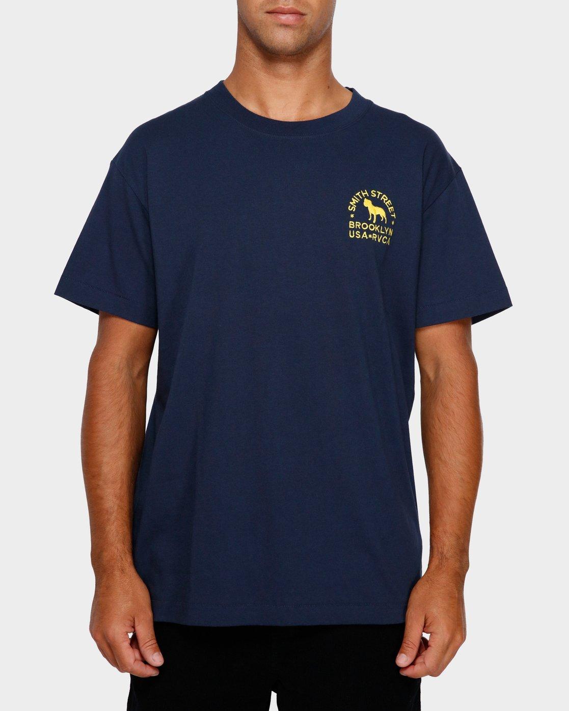 1 Smith Street Wicks T-Shirt  R191063 RVCA