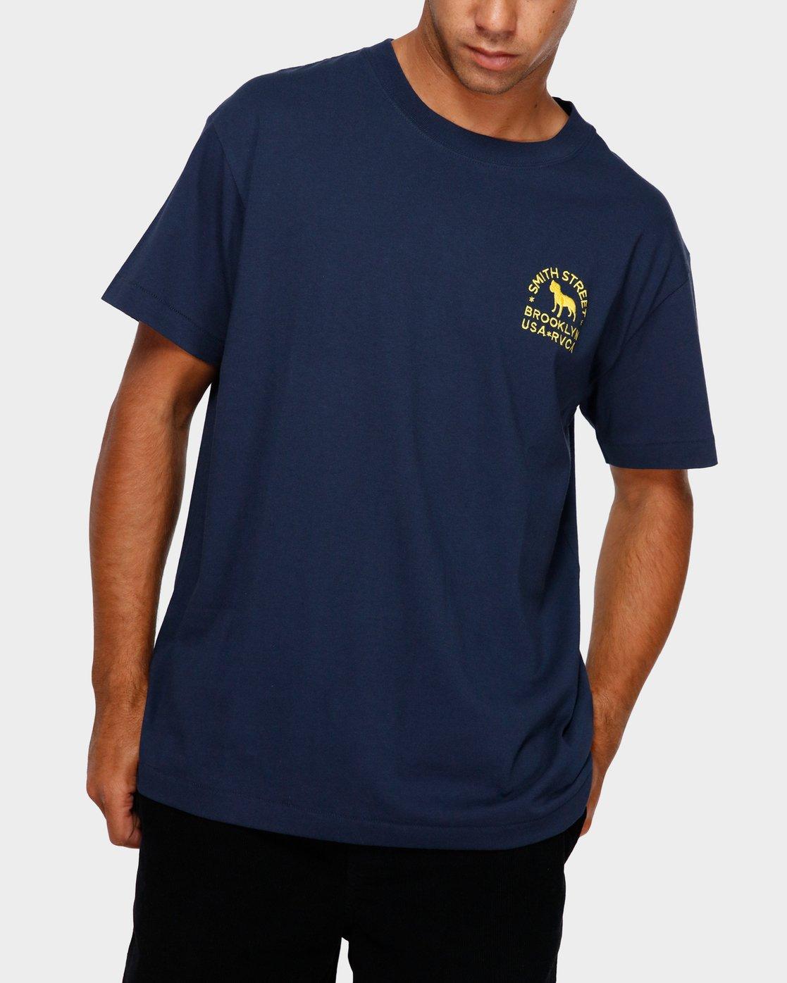 0 Smith Street Wicks T-Shirt  R191063 RVCA