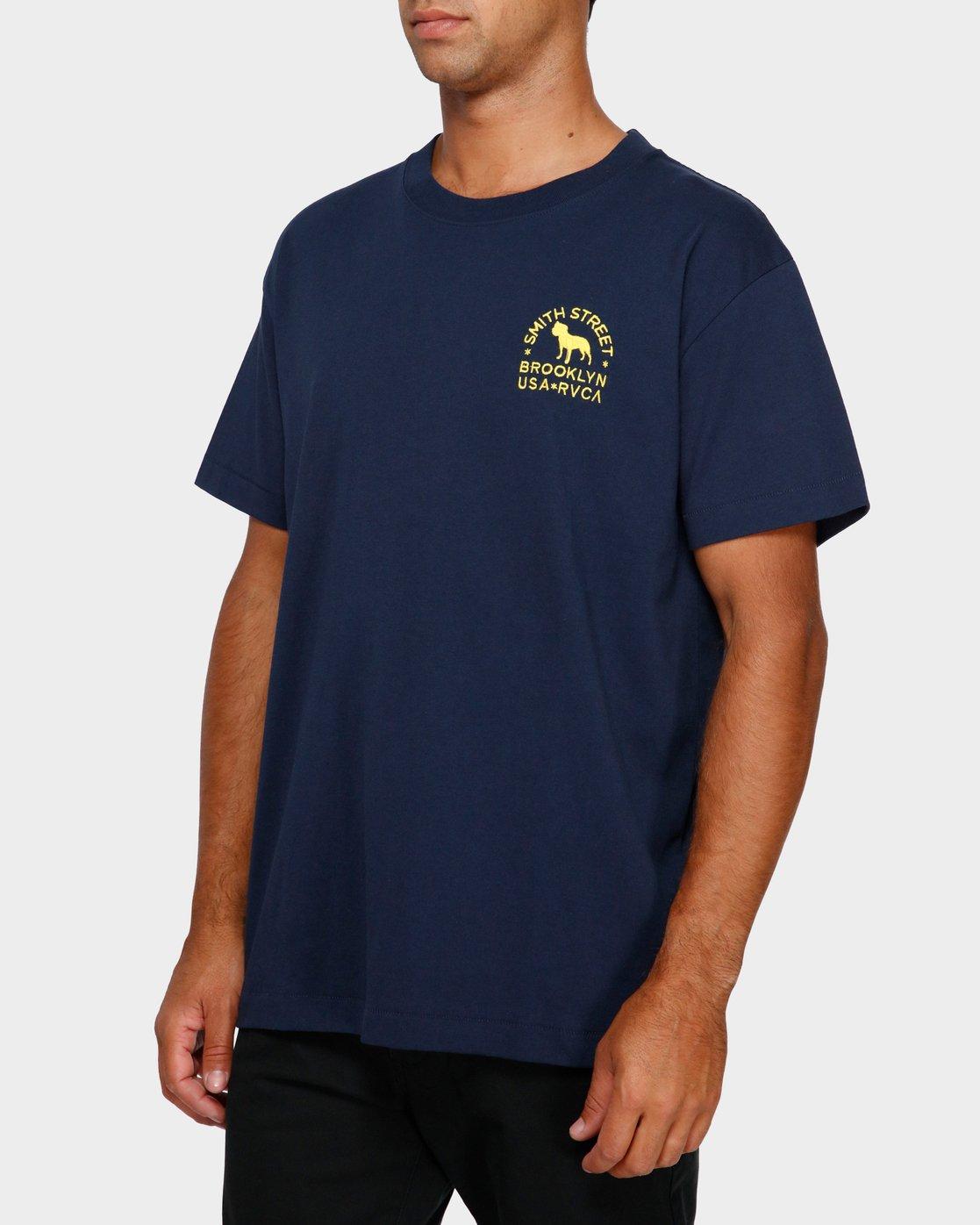 2 Smith Street Wicks T-Shirt  R191063 RVCA