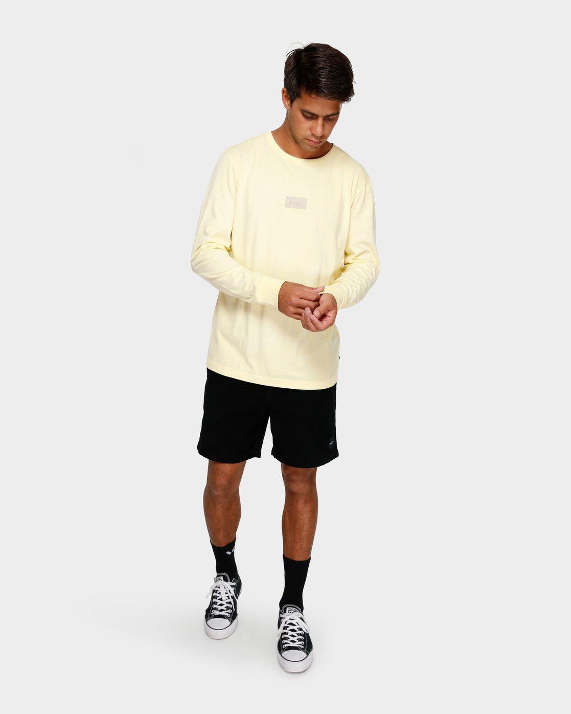 4 Focus 2.0 Long Sleeve T-Shirt  R191091 RVCA