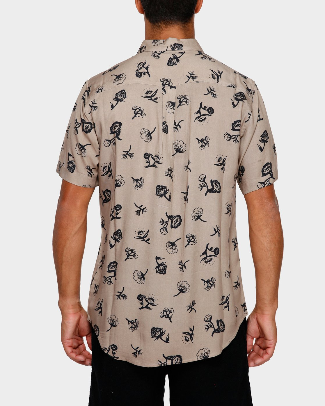 3 Flozza Short Sleeve Shirt  R191182 RVCA