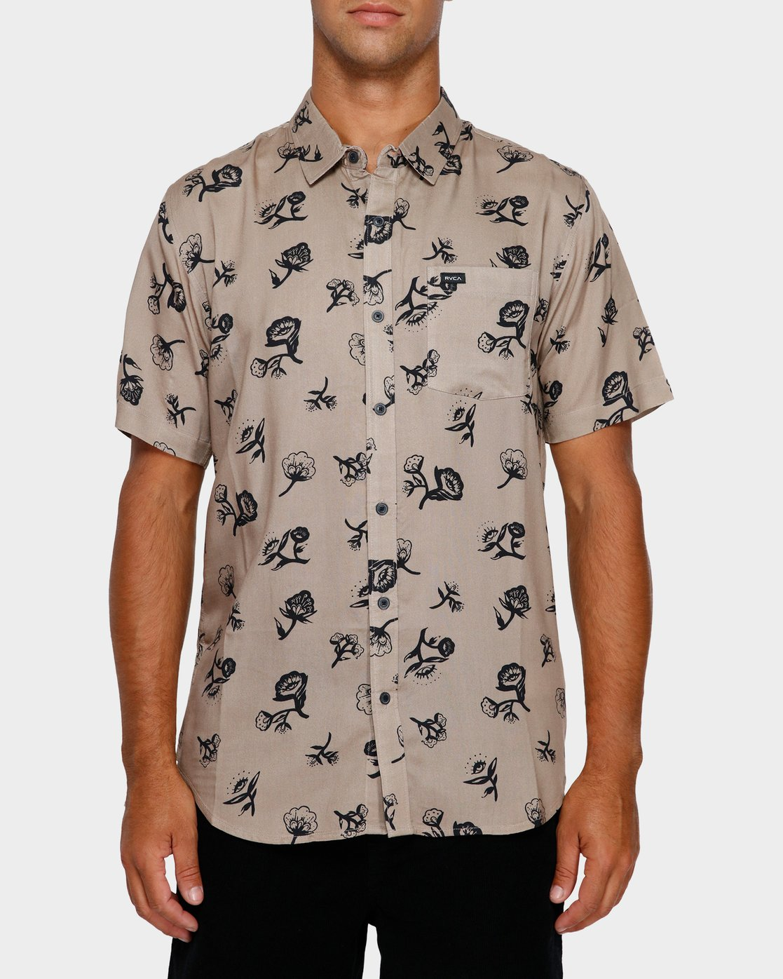 1 Flozza Short Sleeve Shirt  R191182 RVCA