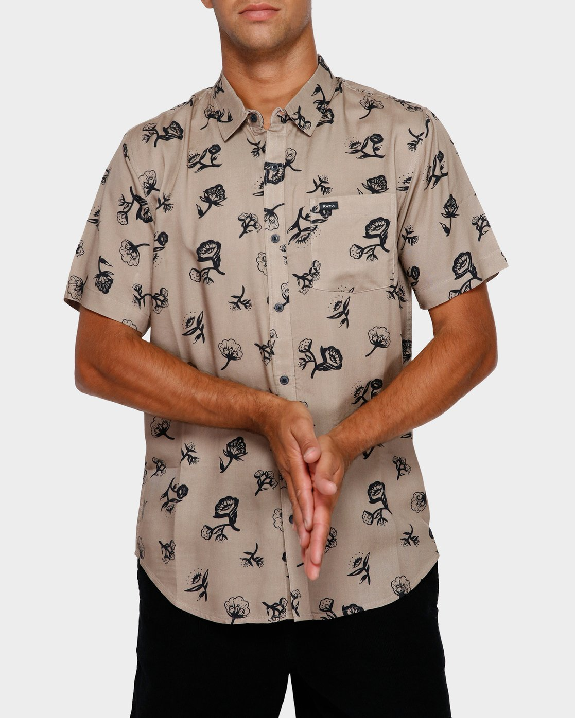 0 Flozza Short Sleeve Shirt  R191182 RVCA