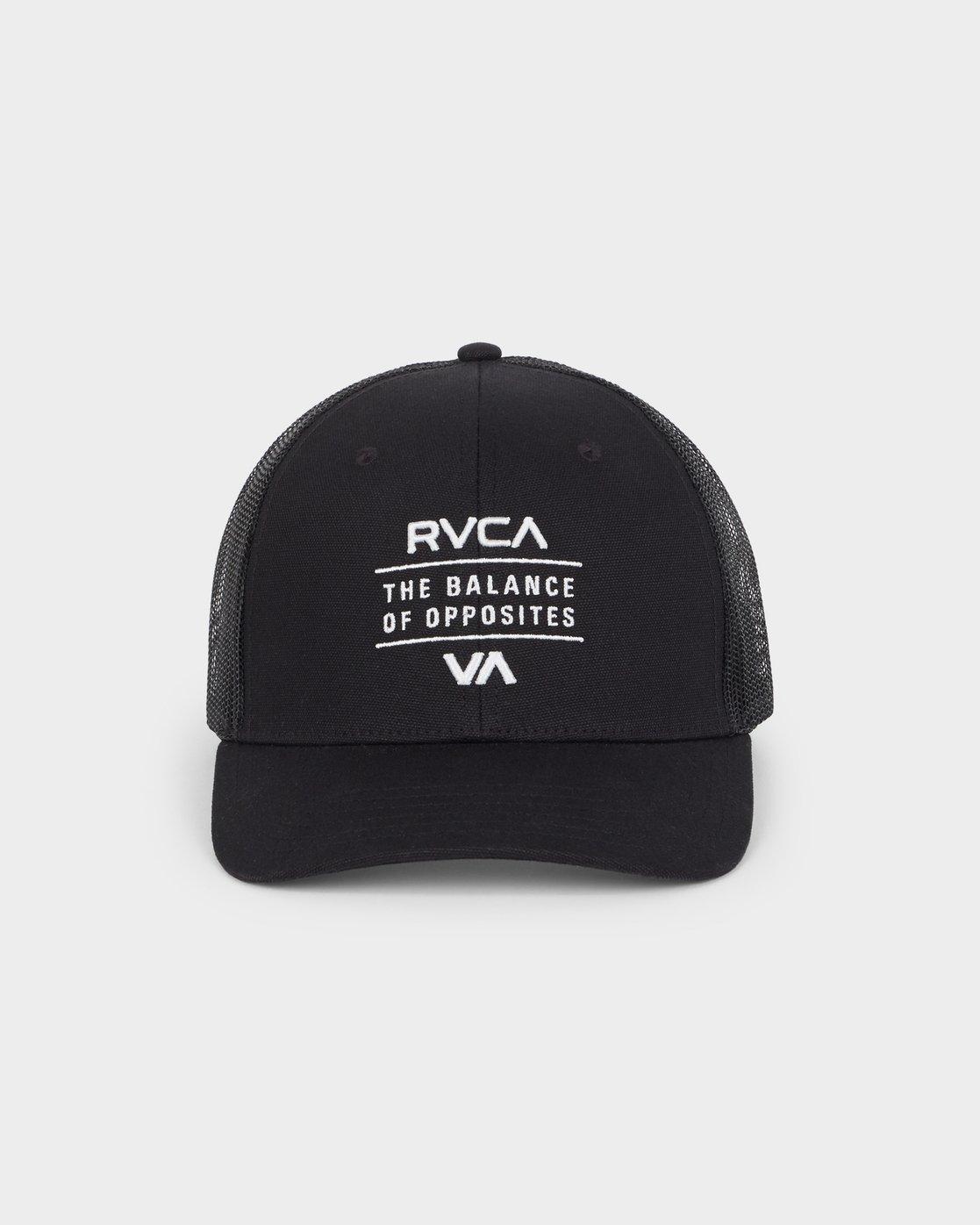 1 RVCA Corps Curved Trucker  R191570 RVCA