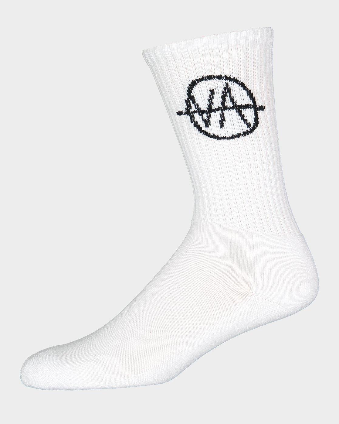3 RVCA Allsorts Sock 4 Pack  R191603 RVCA
