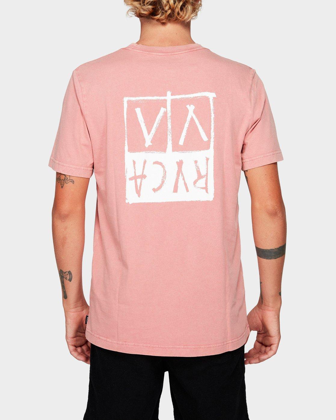 2 RVCA Unplugged Short Sleeve T-Shirt  R192041 RVCA