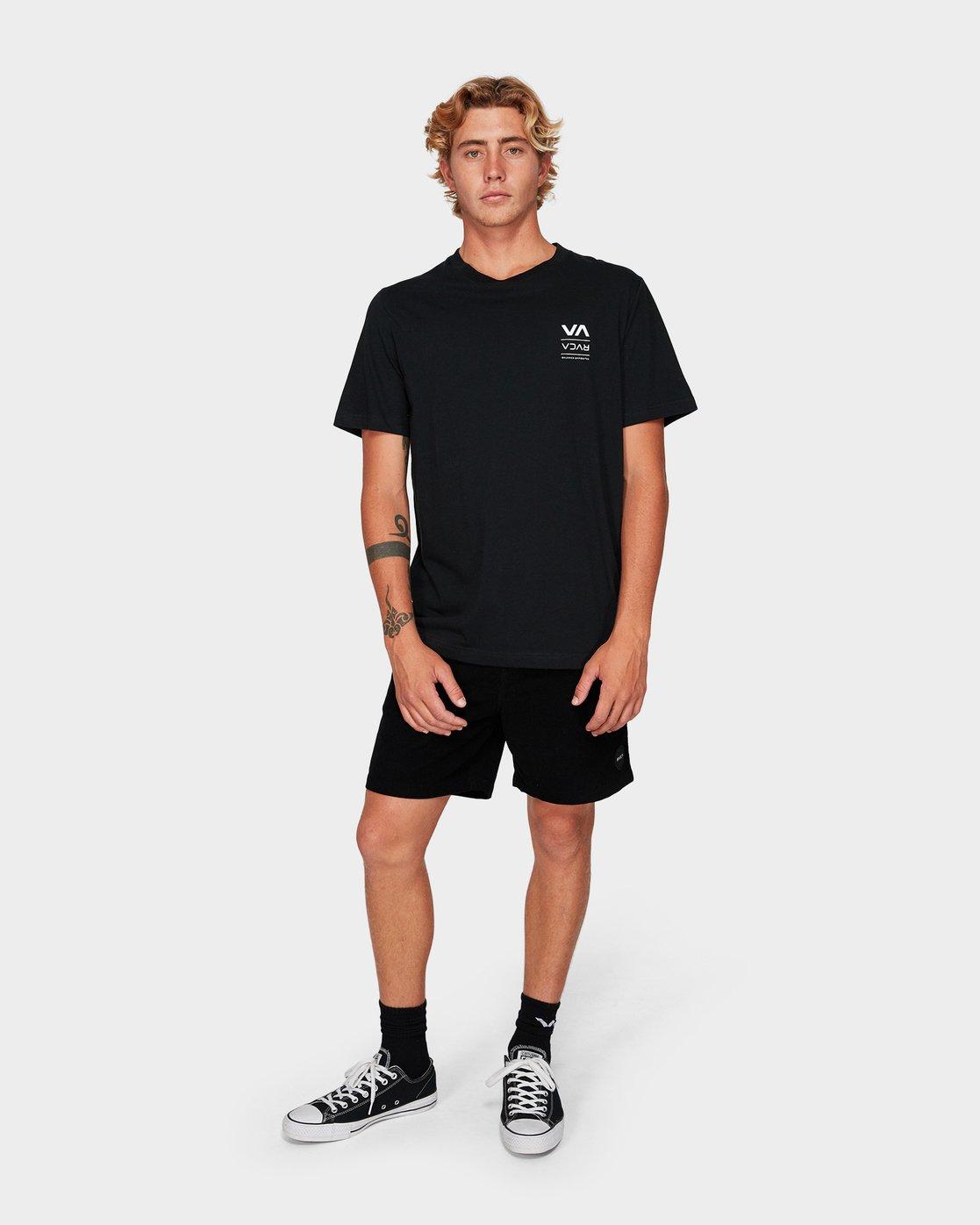 3 Down The Line Short Sleeve T-Shirt  R192043 RVCA
