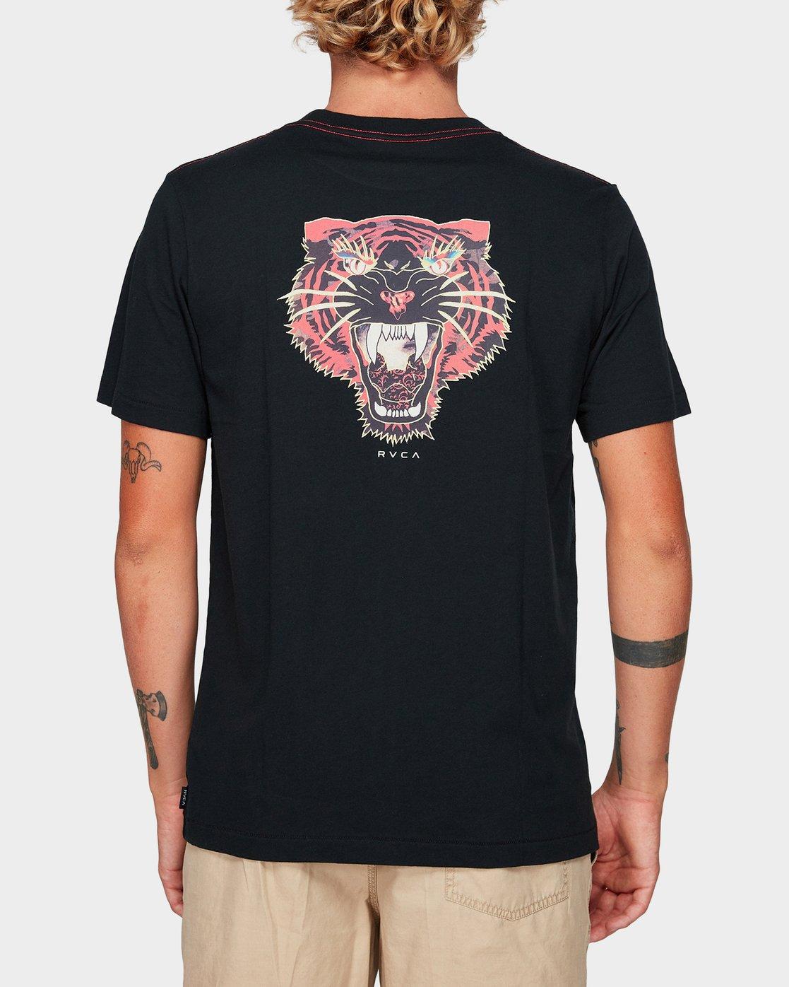 2 Night Luker Short Sleeve T-Shirt  R192050 RVCA