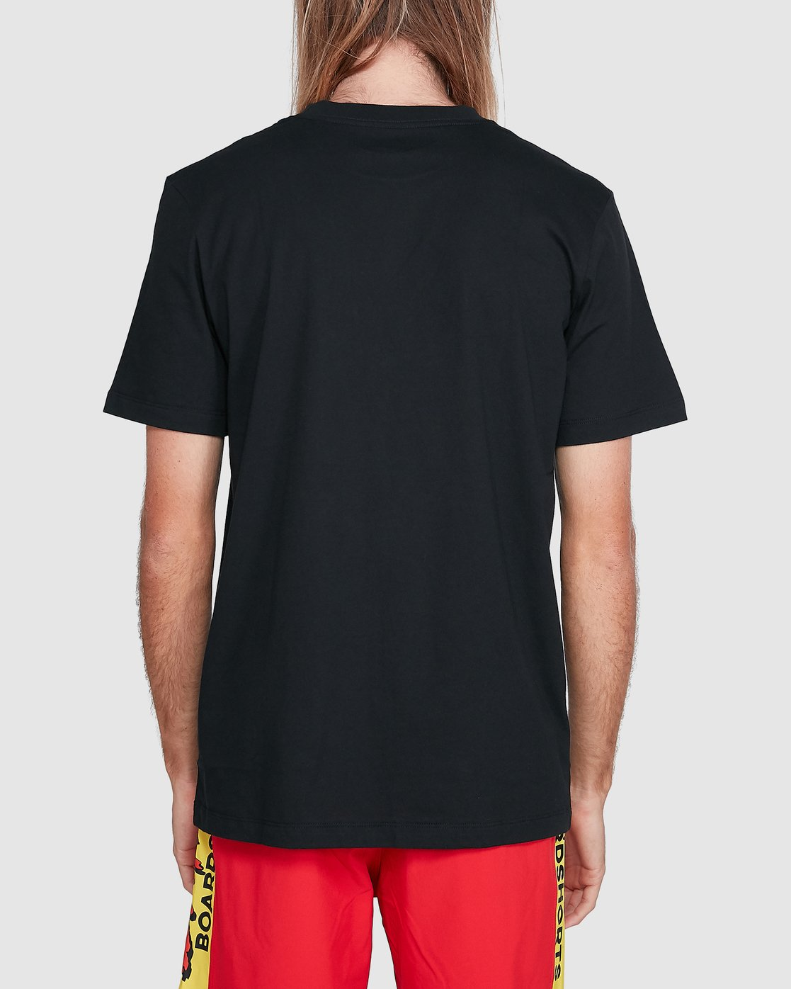 3 Sea Of Flames Short Sleeve Tee Black R192064 RVCA
