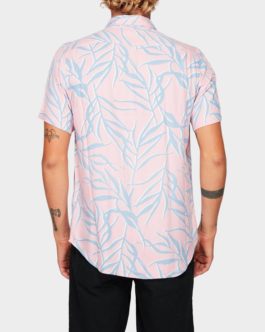 3 Paradiso Palm Short Sleeve Shirt  R192182 RVCA