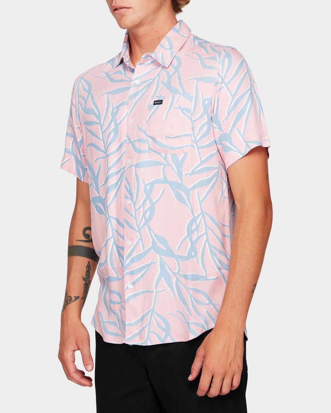 2 Paradiso Palm Short Sleeve Shirt  R192182 RVCA