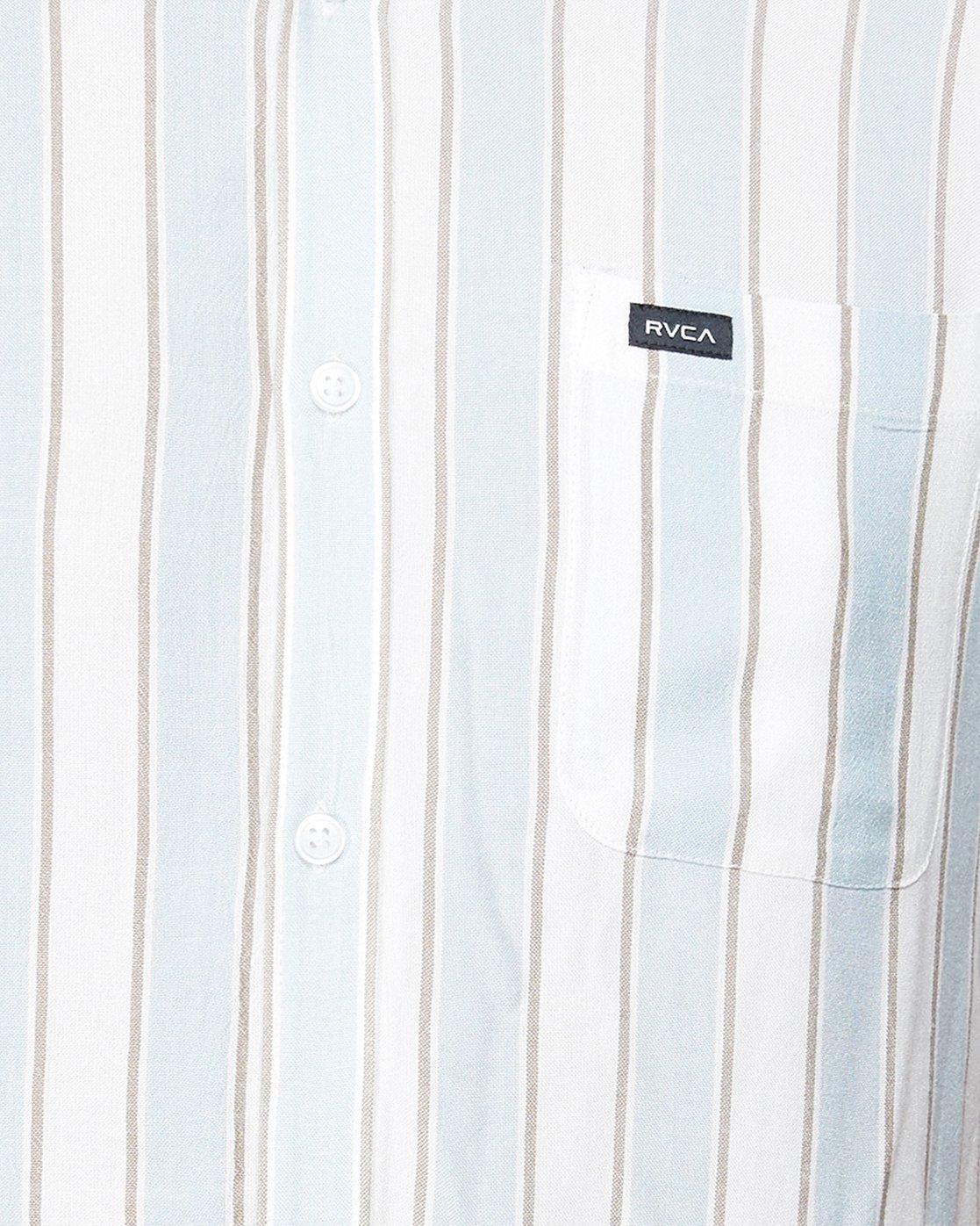 4 Caravan Stripe Short Sleeve Shirt  R192185 RVCA